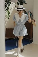 Blue Summer Tunic