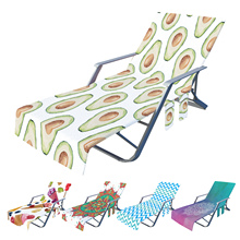 Beach Chair Cover Swimming Pool Lounge Chair Cover With Pockets Lounge Chair Towel Beach Towel For Summer Beach Sunbathing