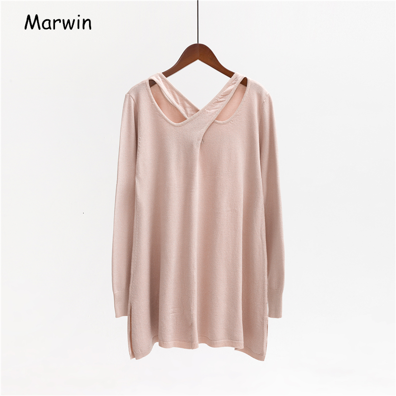 Darwin Autumn Winter Chris Close Woman Knitted Sweater Round Neck Strong Sweater On The Street Soft Warm Sweater