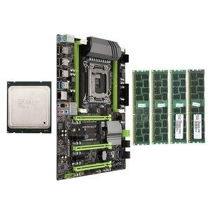 X79 материнская плата LGA2011 комбо с E5 2620 CPU 4-канальный 16 Гб (4X4GB)DDR3 RAM 1333Mhz NVME M.2 SSD слот