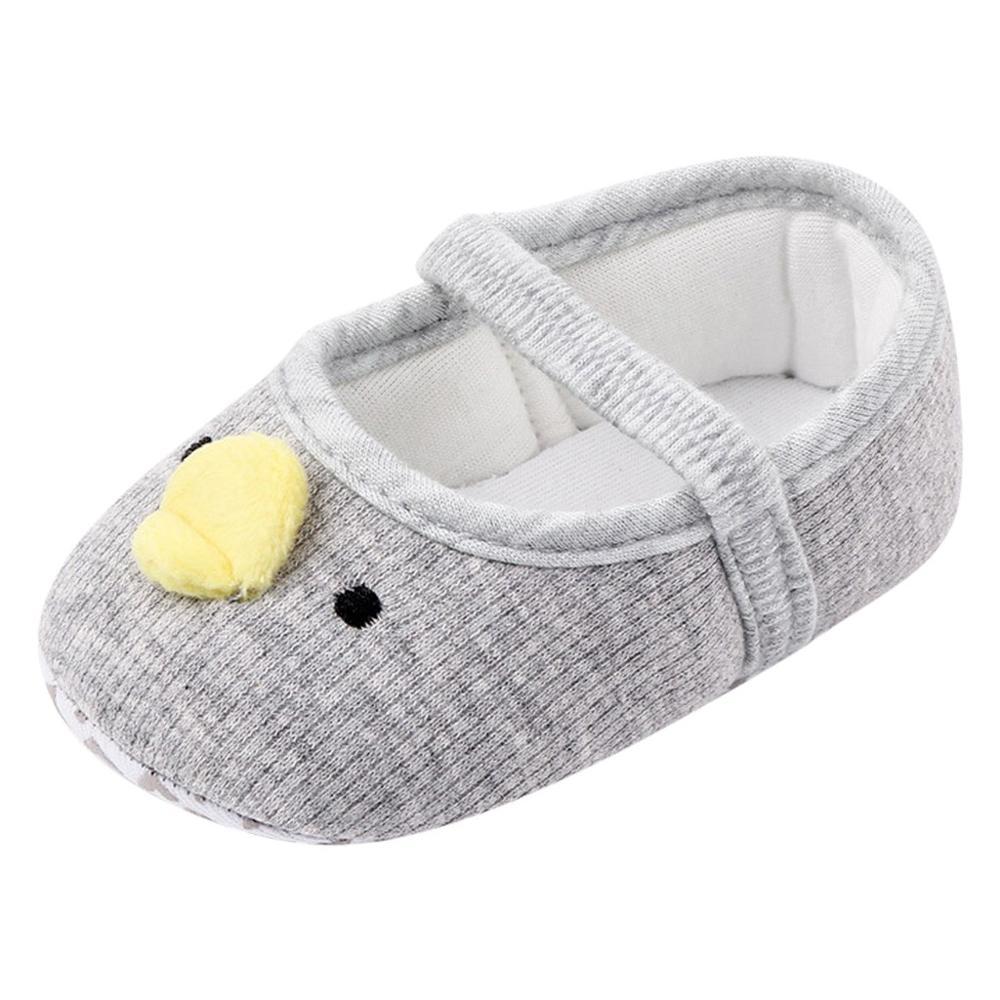 LNGRY Sandals,Toddler Kids Baby Girls Boys Flock Soft Sole Prewalker Sandals Slipper Casual Crib Flat Shoes