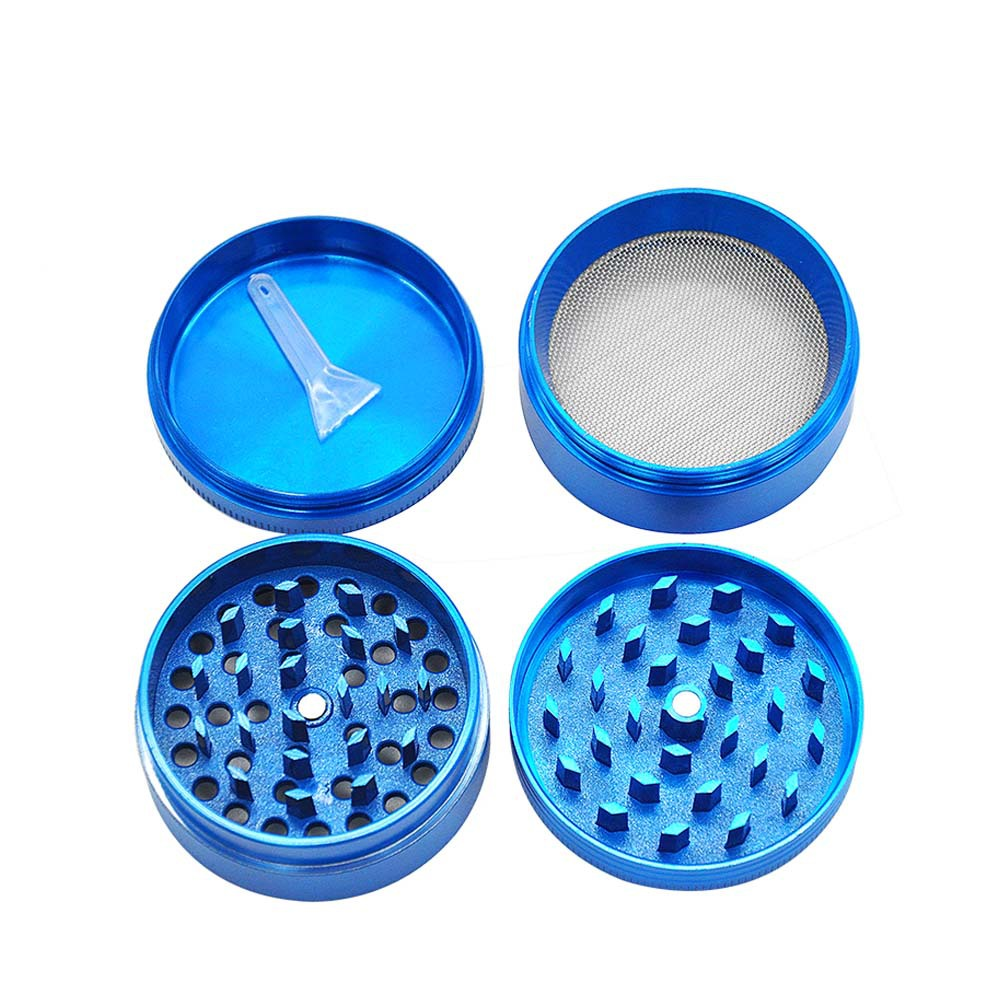 KING KONG Herb Grinder 4 Layers 50 MM Zinc Alloy With Sharp Diamond Teeth Tobacco Metal Herb Crusher Spice Mill Muller 7