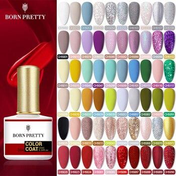 BORN PRETTY Gel Nail Polish Matte Series Vanish 10ML Soak Off UV Gel Semi-Permanent Base Top Coat  Nail Art Design Manicuring недорого