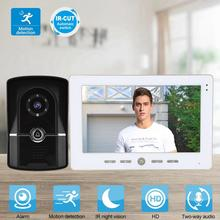 10in Wired Video Door Phone Smart Doorbell Intercom Night Vision Access Control System 110-240V цена 2017