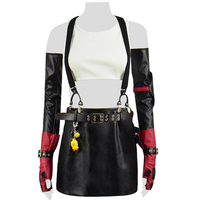 CosDaddy Tifa Lockhart Cosplay Costume Final Women Cosplay Outfit Fantasy Dress Full Set