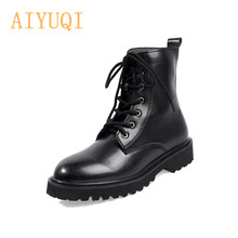 Martin Boots Women British Wind 2019 Autumn New Combat Flat Bottom With Thick Ladies Booties
