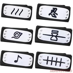 anime naruto headband naruto bandage cosplay uzumaki kakashi akatsuki uchiha sasuke itachi konoha costume accessories hinata