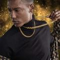 Cuban Link Kette 3mm Bis 7mm Männer Kette Halskette Edelstahl Chunky Männlichen Boy Hip Hop 20