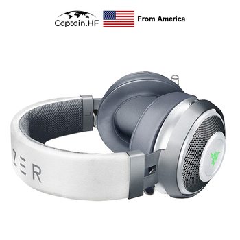 US Captain  Nari Wired/Wireless Gaming Headset, TWS 7.1v2 Stereo Headphones, Noise Canceling for PC/Laptop/Xbox/Phone Game