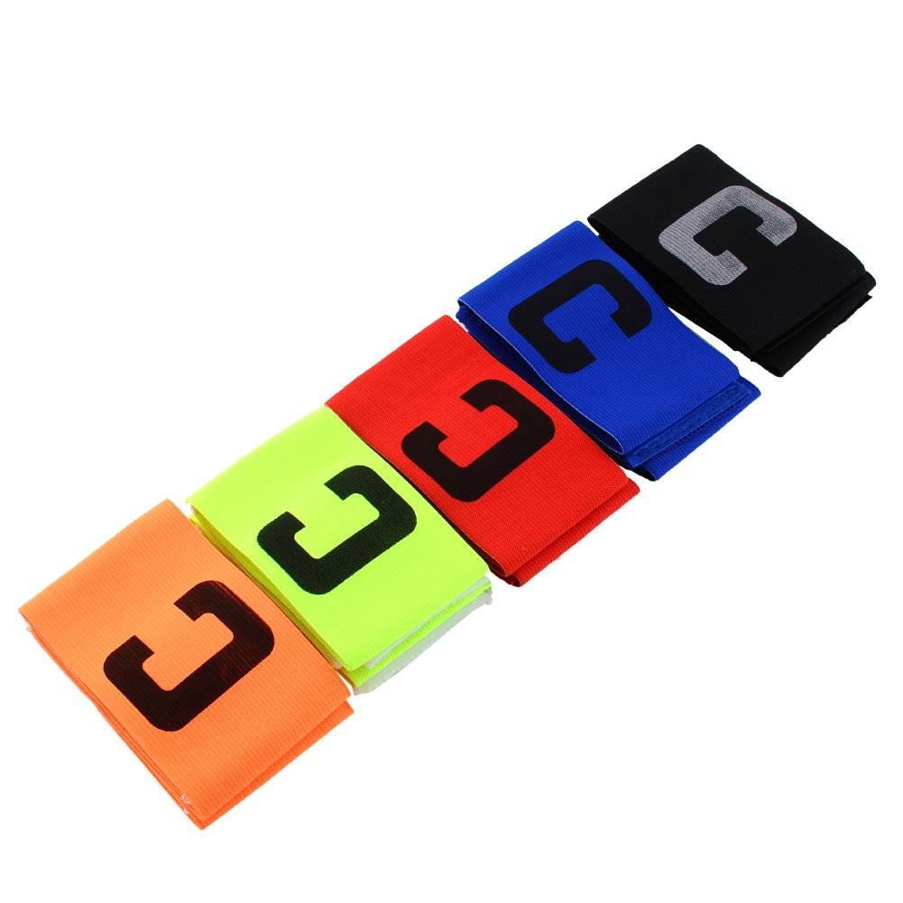 Captain Armband Free Soccer Adjustable Fluorescent Football Sporting Goods Shipping Flexible Arm Basketball Sports Sport Strap
