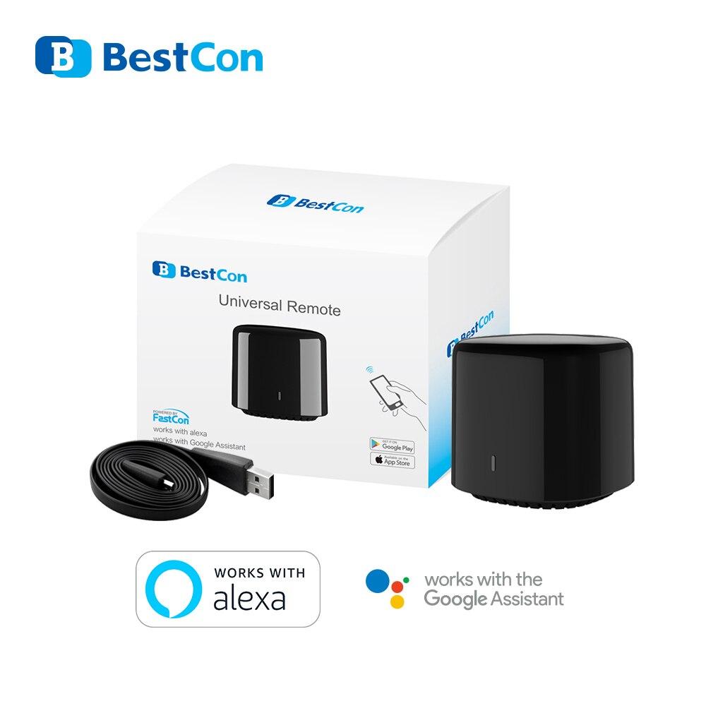 2020 Broadlink RM4 Mini Bestcon RM4C Mini Universal 3G 4G Wifi IR Mini Remote Control Compatible Alexa Google Assistant For A/C