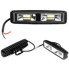 Автомобильный светильник s рабочий светильник 48 Вт для внедорожников, внедорожников, грузовиков, рабочий светильник, бар, лампочка, точечный луч, светодиодный, для вождения, противотуманная фара, лампа на авто, фары