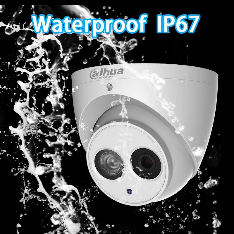 Image 5 - 大華 POE H.265 6MP ドーム IP カメラ IPC HDW4631C A 内蔵マイク IR50m IP67 IK10  2.8 ミリメートル 3.6 ミリメートル 6 ミリメートル    グループ上の セキュリティ