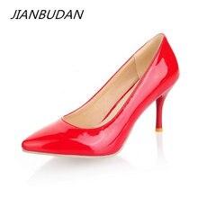 Jianbudan/Женская обувь на заказ пикантная Свадебная тонком