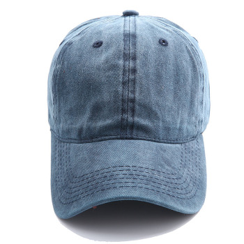 Solid spring summer cap women pony