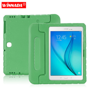 Kids case for Samsung Galaxy Tab Advanced 2 10.1 Inch tablet hand-held Non-toxic EVA full body cover for SM-T583 case(China)