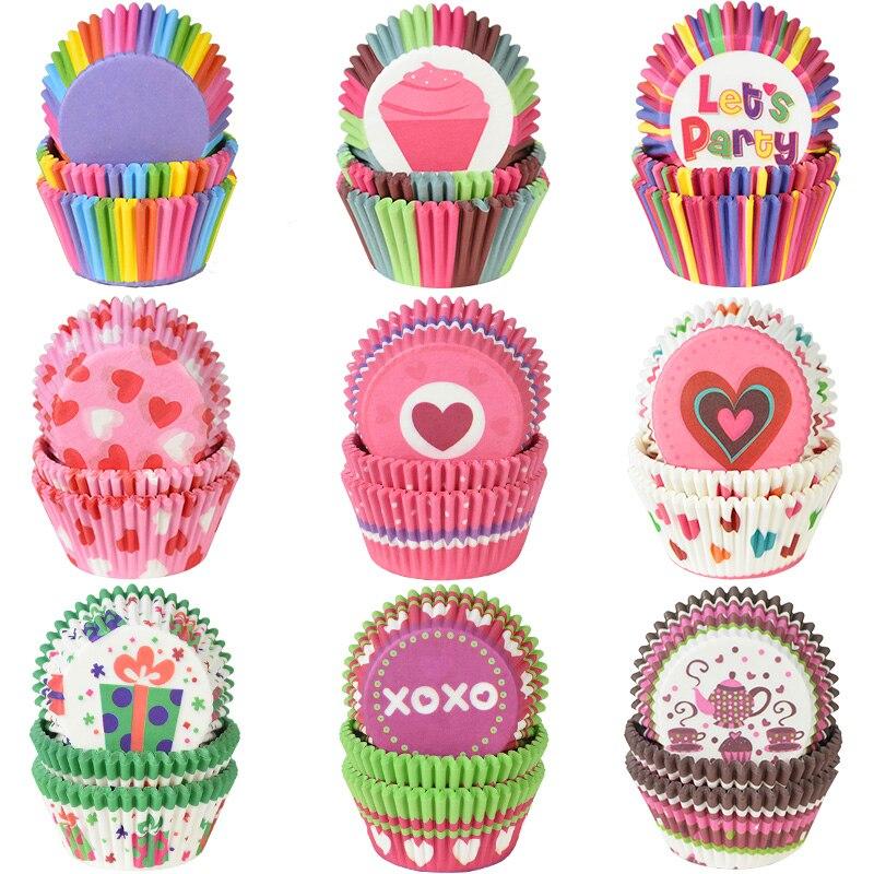 100pcs Cupcake Liners Mini Papier Coupes De Cuisson Muffin Cas Scarf Coupes Parfait Pour Les Boules De G/âteau Petits G/âteaux Muffins Caf/é