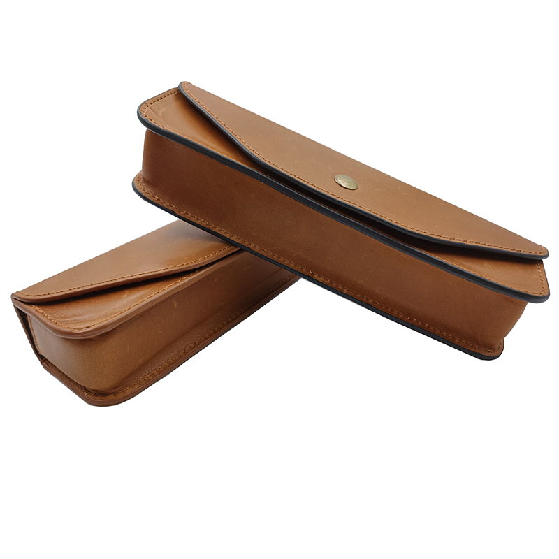 Chromatic Harmonica Cow Leather Bag Suitable For Suzuki Hohner Seydel 16 Holes Chromatic Harmonica Windwood Musical Instruments