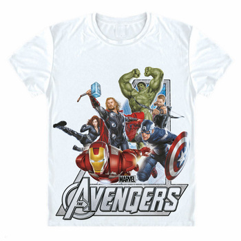 Avengers T Shirt Ironman Captain America Iron men Hawkeye Black Widow Hulk Marvel T-shirt Avengers Super hero 3D Print Tee Shirt