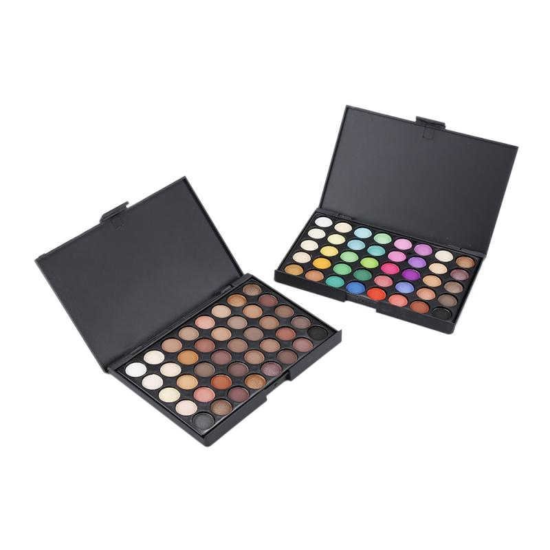 NEW 40 Colors Matte Shimmer Eyeshadow Makeup Palette Earth Color Eye Shadow Pallete Pearl Long Lasting Makeup Cosmetic Set TSLM2 6