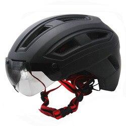 Matowy czarny kask rowerowy kaski rowerowe bezpieczne tylne światło MTB do roweru szosowego i górskiego integralnie formowane kaski rowerowe Unisex X92A