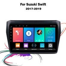 "Eastereggs 9 ""2 דין אנדרואיד מולטימדיה לרכב עבור סוזוקי סוויפט 2017 2019 ראש יחידת Autoradio GPS ניווט BT WIFI"