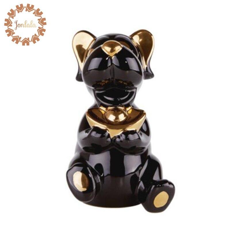Personalità Creativa di Cane Scarpe a Forma di Lingotto D'oro Imitazione Cute Dog Armadio Soggiorno Ornamento Famiglia Decorativo Artigianato di Ceramica