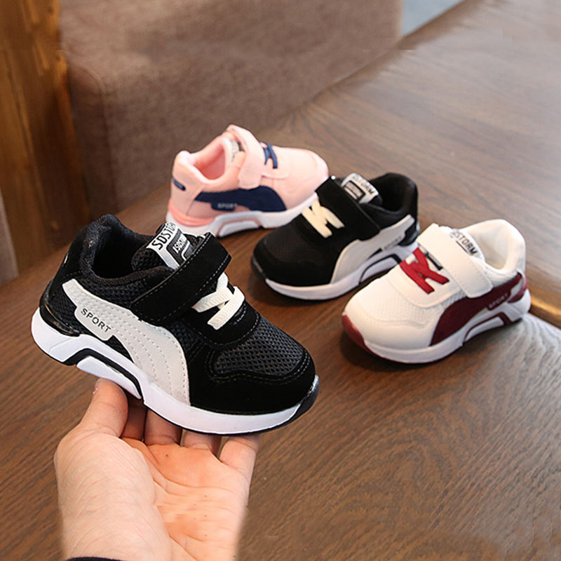 Toddler Baby Girls Boys Casual Sports Shoes For Kids Girls Air Mesh Breathable Sneakers Shoes Shoe 1 2 3 4 5 6 7 Years Old New