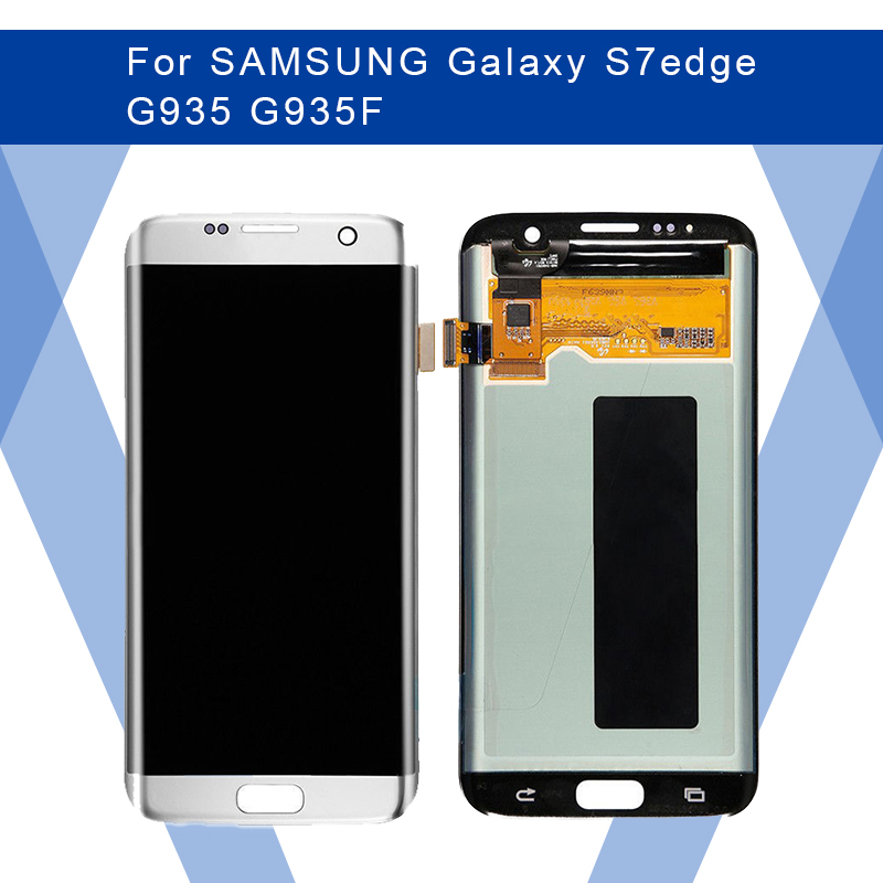 For <font><b>SAMSUNG</b></font> <font><b>Galaxy</b></font> <font><b>S7</b></font> edge G935 G935F LCD AMOLED <font><b>Display</b></font> Screen+Touch Panel Digitizer Assembly For <font><b>SAMSUNG</b></font> <font><b>Display</b></font> Original image