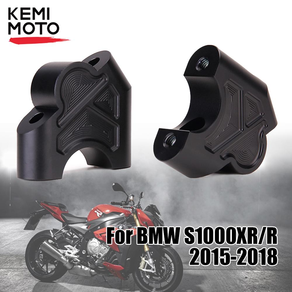 2019 R1250GS R1200GS Handlebar Riser For BMW LC Adventure ADV 2014 2015 2016 2017 2018  Clamp Back Move Mount