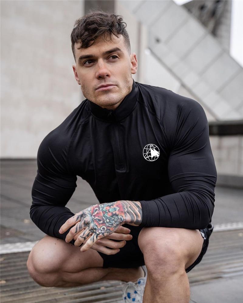 Bodybuilding Shirt for Men Mens Clothing Tops & T-shirts