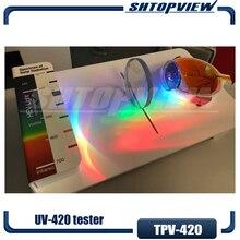 UV420 синие линзы тестер анти-синие линзы тестер демонстрационный инструмент