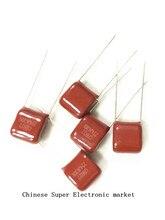 10 adet 630V224J 0.22UF Pitch 10mm 224 630V 220nf CBB polipropilen film kapasitör