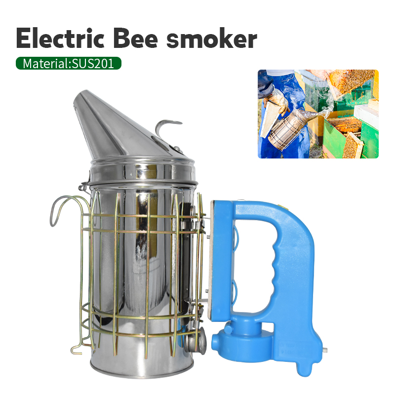 Beekeeping Bee Smoker Stainless Steel Smoker Transmitter Kit Bee Smoke Sprayer Beehive Equipment