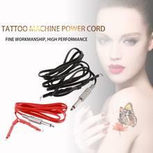 Профессиональный зажим для татуировки штекер phono 6 футов источник