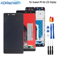 For Huawei P9 Lite LCD Display Digitizer Phone For Huawei G9 LCD VNS-L21 VNS-L22 VNS-L23 VNS-L31 LCD Display Touch Screen Frame цена