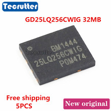 5 adet GD25LQ256CWIG WSON8 6x5 GD25LQ256 32MB 256Mbit