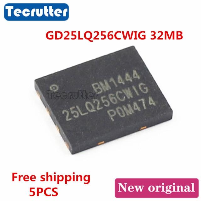 5PCS GD25LQ256CWIG WSON8 6x5 GD25LQ256 32MB 256Mbit