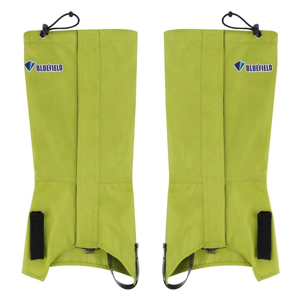 1 Pair Bluefiled Waterproof Outdoor Hiking Walking Climbing Hunting Snow Legging Gaiters Winter Leg Protect Equipment