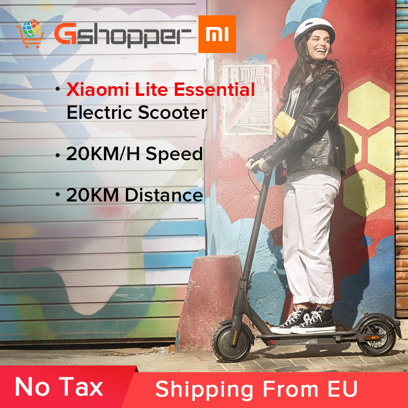 Xiaomi Mi Electric Scooter Essential Lite Mijia Smart E Scooter Skateboard Mini Foldable Hoverboard Patinete Electrico Adult Aliexpress