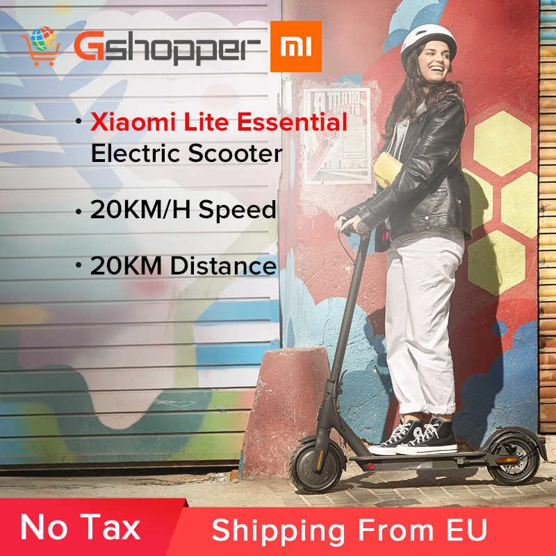 Xiaomi Mi Electric Scooter Essential Lite Mijia Smart E Scooter Skateboard Mini Foldable Hoverboard Patinete Electrico Adult Aliexpress