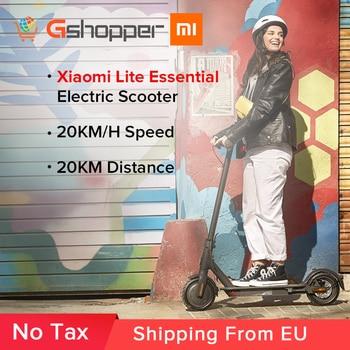 Xiaomi Mi Scooter Eléctrico esencial Lite MIJIA Smart E-Scooter Skateboard Mini plegable Hoverboard Patinete eléctrico para adultos
