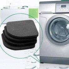 Coussin Anti-Vibration antidérapant pour Machine à laver, 4 pièces, tampons antichocs multifonctionnels pour réfrigérateur