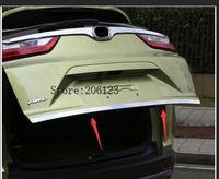 Для Honda CRV CR-V 2017 2018 нержавеющая сталь Задний задний багажник декоративная литьевая крышка отделка 1 шт. аксессуары для стайлинга автомобиля!