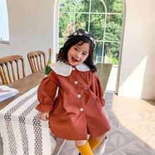 цена на XINI MOMMY 202Fashion winter coat girl Long  jacket otton-padded  jacket  girls puffer jacket toddler Solid kidsdown jacket Y40
