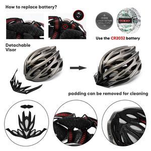 Image 5 - KINGBIKE HOT Bicycle Helmet Men Women MTB Road Cycling Helmets Ultralight Integrally molded EPS+PC Bike helmet Capacete Ciclismo