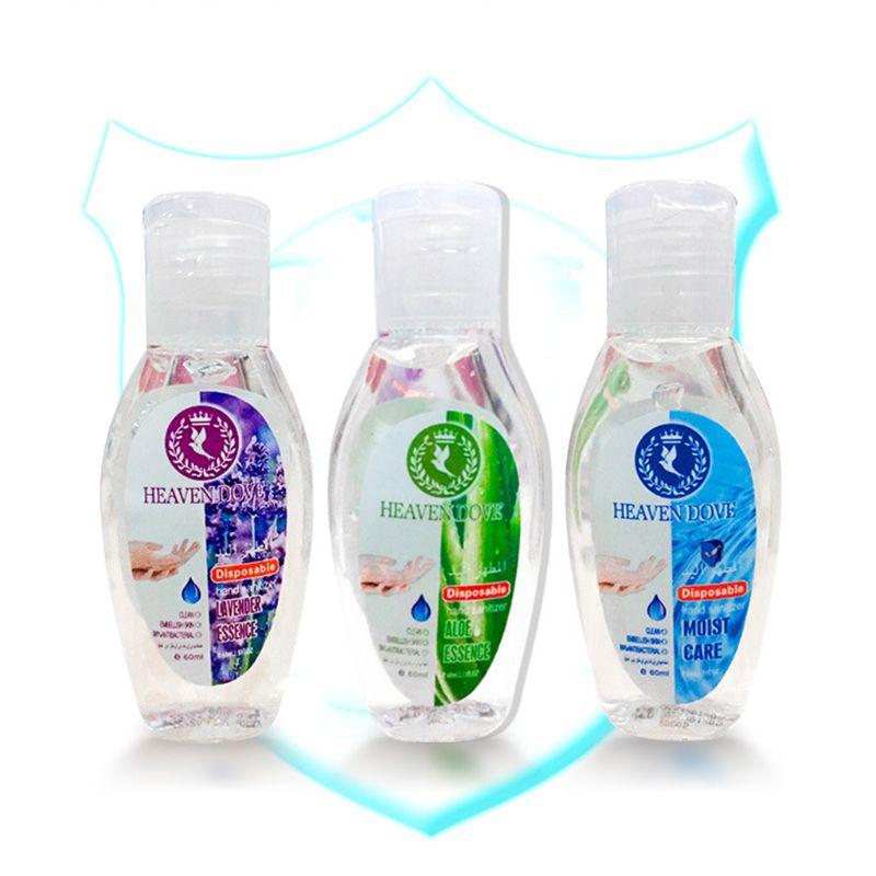 60ml Mini Hand Sanitizer Quick Drying Alcohol-Free Antibacterial Travel X7YB