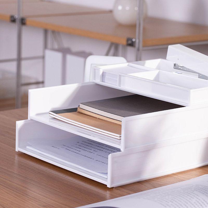 a4 documento organizador revista escritorio arquivo de armazenamento de papelaria prateleira rack
