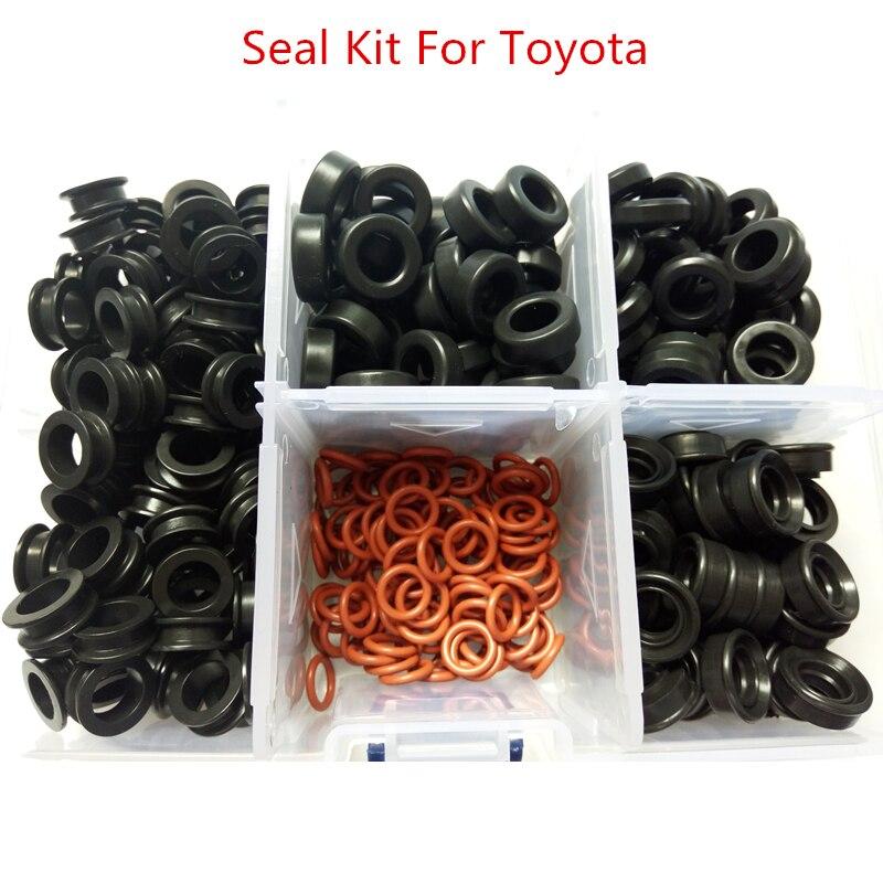 pulsuz göndərmə Toyota 3.0L V6 (AY-SK-T03) üçün 350 ədəd / qutu yanacaq enjektör dəsti möhürlənməsi
