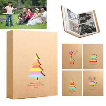 "200 Slots 3R 5"" Photo Albums Picture Storage Hold Case Family Baby Wedding Graduation Commemorative Album(China)"